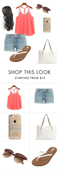 """""""summer"""" by ebellows18 on Polyvore featuring Paige Denim, Agent 18, G.H. Bass & Co. and Volcom"""