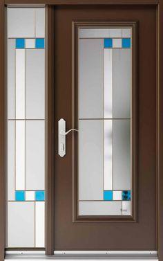 Vitraux - Portes extérieures- Jean-Claude Poitras - Braque #377