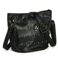 Women's Skull Messenger Shoulder Bag New without tags Bags Crossbody Bags