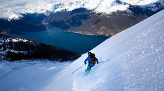 The coastal town of Skagway, Alaska offers quick access to some of the best untracked powder in the world.