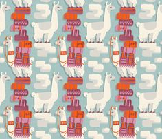 Beast of Burden fabric by mariaspeyer on Spoonflower - custom fabric