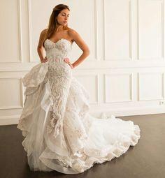 Wedding gown by Maison Yeya