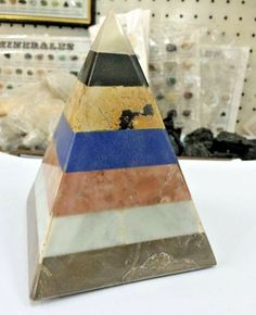 Peruvian Pyramid Minerals 7 Layers for Good Armony and Wealth | eBay