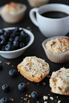 Coconut Muffins | MyBakingAddiction.com