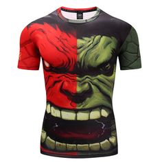 01b25a37bc23f 3D Printed T-shirt For Men - Hulk Price  14.68  amp  FREE Shipping
