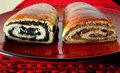 Hungarian poppy seed & walnut rolls