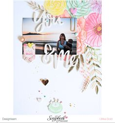 Layout *You & Me* - Pink Paislee / Paige Taylor Evans - *Take Me Away* - von Ulrike Dold