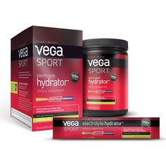 Hydrate during and post-workout with plant-based Vega Sport® Electrolyte Hydrator. Best Post Workout Drink, Workout Drinks, Sugar Alternatives, Lemon Lime, Plant Based, Healthy Snacks, Berries, Packaging, Personal Care