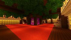 My Castles Nether Portal/Mass Storage Room : Minecraft