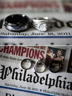 Buy a Newspaper On Your Wedding Day