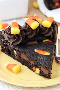 16 Halloween Desserts Made With Candy Corn - You might be on a candy corn sugar high for days...