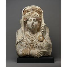 The Beauty of Palmyra, 190 - 210 C. Hard white limestone with traces of color, 21 × 15 × 5 in. Ancient Tomb, Ancient Art, Getty Villa, Robert Wood, Palmyra, Getty Museum, Roman Art, Roman Empire, African Art