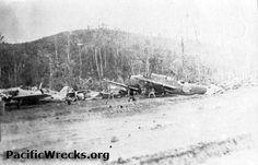 Jap Aircraft at Munda