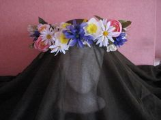 Crown for a Spring Queen by KatKeRosCorner on Etsy