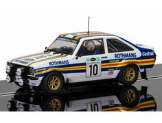 The Scalextric Ford Escort MK2 Acropolis Rally 1980 is a slot car from the Scalextric Road and Rally car range.