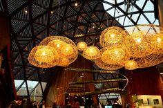 Belgian Pavillon at Milan Hall Lamps, Akiane Kramarik, Expo 2015, Town And Country, Milan, Ceiling Lights, Italy, Design, Inspiration