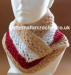 Free crochet pattern for autumn cowl http://www.patternsforcrochet.co.uk/autumn-cowl-usa.html #patternsforcrochet