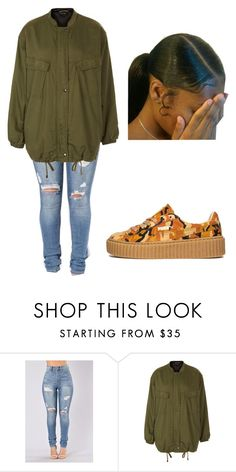 """""""What you do to me...."""" by beautyqueen-927 ❤ liked on Polyvore featuring Topshop and Puma"""
