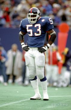 Harry Carson, New York Giants, 1987