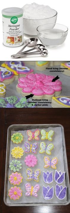 Royal Icing Instructions and Recipe! Wow! There are a few tips I didn't know! You may want to pin this for your reference!