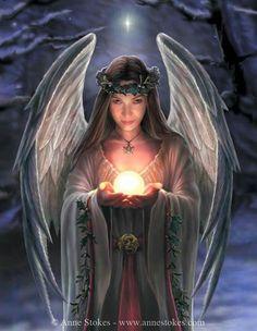 Yule Angel, Anne Stokes