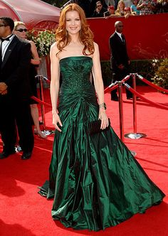 Marcia Cross - The Desperate Housewives star looked like a knockout in an Elie Saab gown in 2005.
