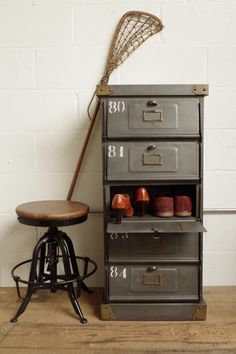 Industrial Mail Sorting Cabinet – Vincent and Barn