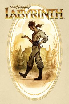 Image of young Jareth from the Archaia Comics Labyrinth prequel. The art is by Cory Godbey.