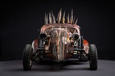 Before The Dirt Part 2 The Cars of Mad Max Fury Road on Behance Apocalypse World, Death Race, Mad Max Fury Road, Dieselpunk, Mopar, Diorama, Cool Cars, Badass, Antique Cars