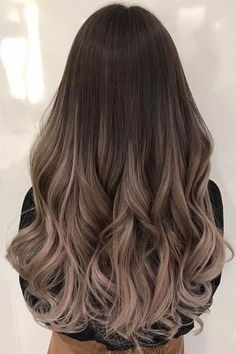 Balayage and ombre hair. Hair color ideas and trends for 20 Hairstyles hair ideas. Balayage and ombre hair. Hair color ideas and trends for 20 . Gorgeous Hair Color, Cool Hair Color, Hair Color Ideas For Dark Hair, Pretty Hair, Onbre Hair, Hair Color Balayage, Blonde Ombre, Balayage Ombre, Ashy Brown Hair Balayage