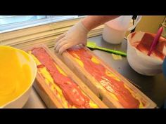 Making & Cutting Vesta Cold Process Luxury Soap - YouTube