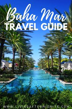 These 25 photos will make you want to visit Baha Mar because after putting together this post I'm absolutely thinking about booking a trip back! Atlantis Bahamas, Nassau Bahamas, Bahamas Family Vacation, Family Vacations, Dream Vacations, Maui Hotels, Swimming Pigs, World Travel Guide, Travel Guides