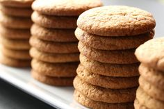 Crunchy Ginger Snap Cookies
