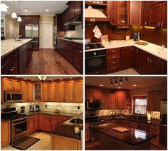 "4pc 12/"" LED Light Bar Kit Cabinet Bar Home Kitchen Garage Cool White Bright"