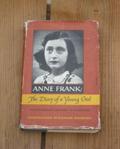 ANNE FRANK THE DIARY OF A YOUNG GIRL, 1967 via Bookish Kind. Click on the image to see more!