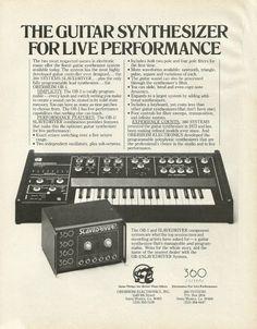 MATRIXSYNTH: 1977 Oberheim OB-1 Synthesizer & Slavedriver Compo...