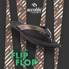 Let's roll your Fridays with the perfect flip-flop we got for you here. #Aeroblu #flipflop