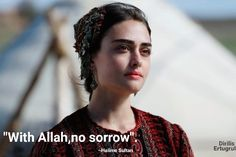With Allah no sorrow, Islamic Love Quotes, Islamic Inspirational Quotes, Netflix, Hiding Feelings, Religion Quotes, My Life Quotes, Best Dramas, Urdu Thoughts, Turkish Beauty