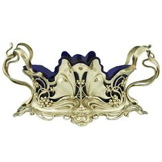 Art Nouveau Metal Work | Art nouveau domestic metalwork from Württembergische Metallwaren ...