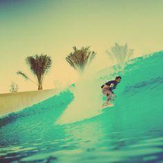 Dion Agius Wadi Adventure Wave Pool Barrel Old School