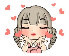 LINE Creators' Stickers - Unna dook dik Example with GIF Animation Cute Love Images, Cute Love Gif, Kiss Animated Gif, Bisous Gif, Animated Emoticons, Emoji Love, Emoji Symbols, Smiley Emoji, Cute Cartoon Pictures