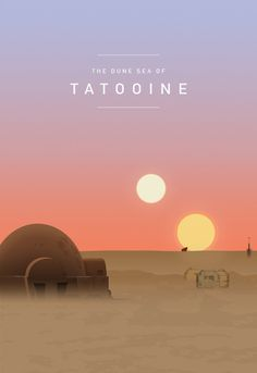 ANH Tatooine Sunset