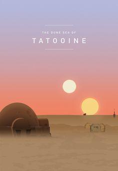 Star Wars: The Dune Sea of Tatooine Star Wars Film, Star Wars Poster, Star Wars Rebels, Star Wars Quotes, Star Wars Humor, Star Wars Dark Side, Citations Star Wars, Star Wars Painting, Movies And Series
