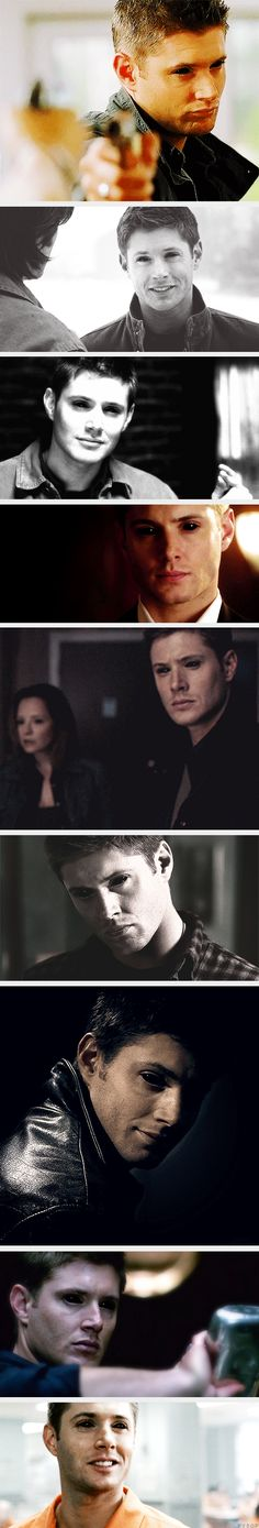 (gif set) Demon!Dean Edit