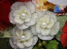 Handmade-kursy ,wzory ,tutoriale: Kwiaty z krepiny