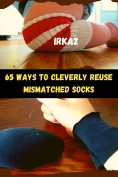 Just when you thought single socks were done for, here are 65 cool DIY projects that will keep you from tossing them into the donation bin!