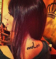 one love tattoo