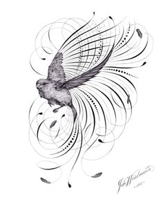 A caligrafia artística do Mestre Penman   Jake Weidmann