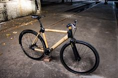 Innovativ und ökologisch wertvoll (Rechte: Ozon Cyclery) | #bamboo #bicycle #green #economic #design repinned by www.BlickeDeeler.de | Follow us on www.facebook.com/BlickeDeeler