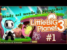 ✦La Scienza di Giacomo✦Little Big Planet 3✦PS4 Gameplay[#1] Sackboy Bend...